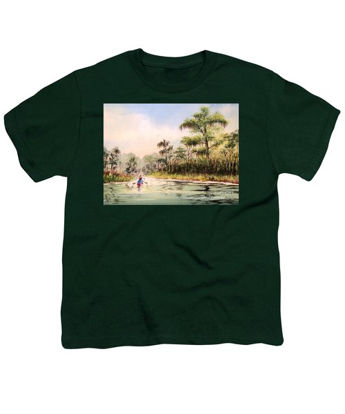 Wacissa River  Youth T-Shirt by Bill Holkham