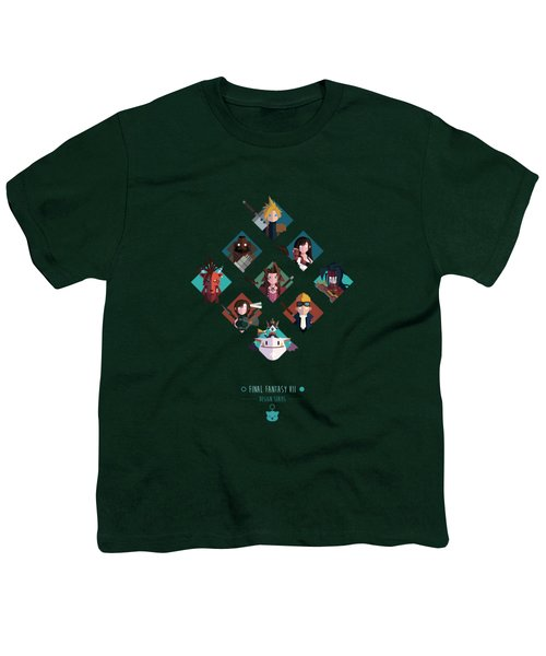 Ff Design Series Youth T-Shirt by Michael Myers