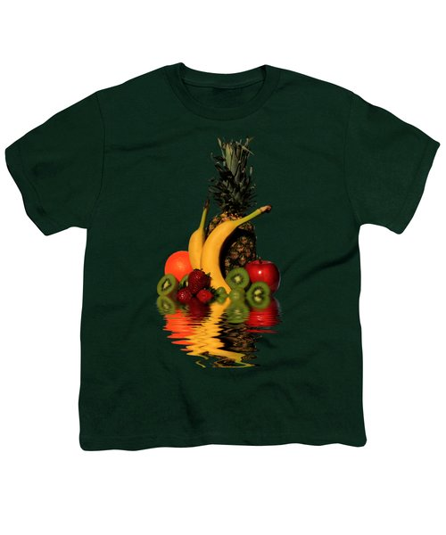 Fruity Reflections - Dark Youth T-Shirt by Shane Bechler