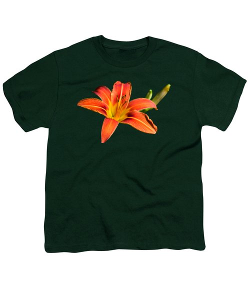 Tiger Lily Youth T-Shirt by Christina Rollo