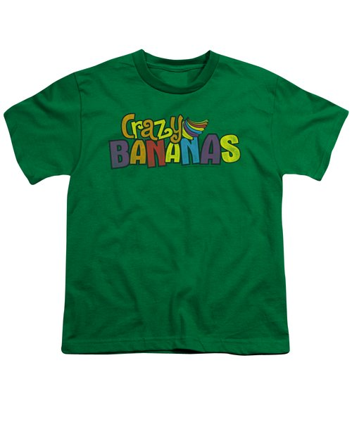 Dubble Bubble - Crazy Bananas Youth T-Shirt by Brand A