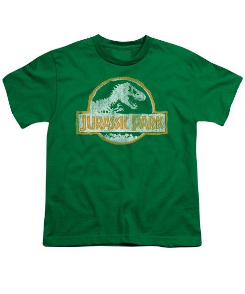 Jurassic Park - Jp Orange Youth T-Shirt by Brand A