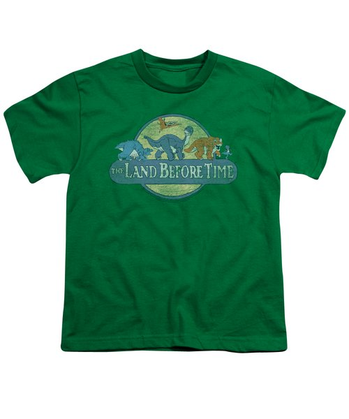 Land Before Time - Retro Logo Youth T-Shirt by Brand A