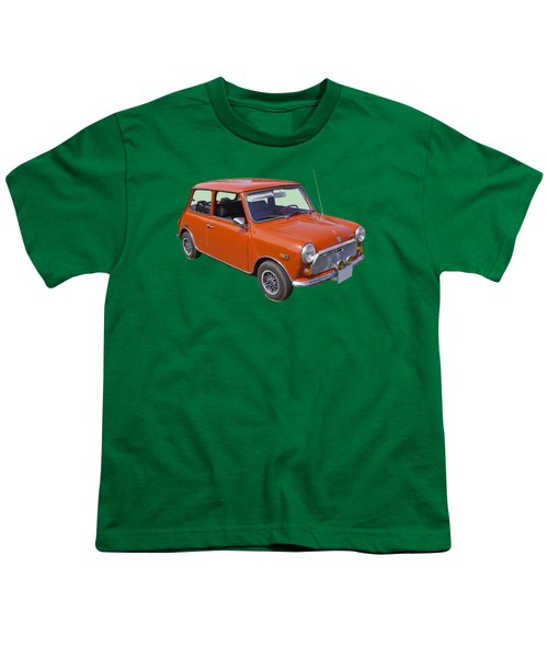 Red Mini Cooper Youth T-Shirt by Keith Webber Jr