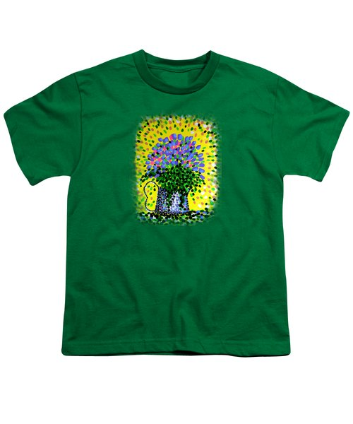 Explosive Flowers Youth T-Shirt by Alan Hogan