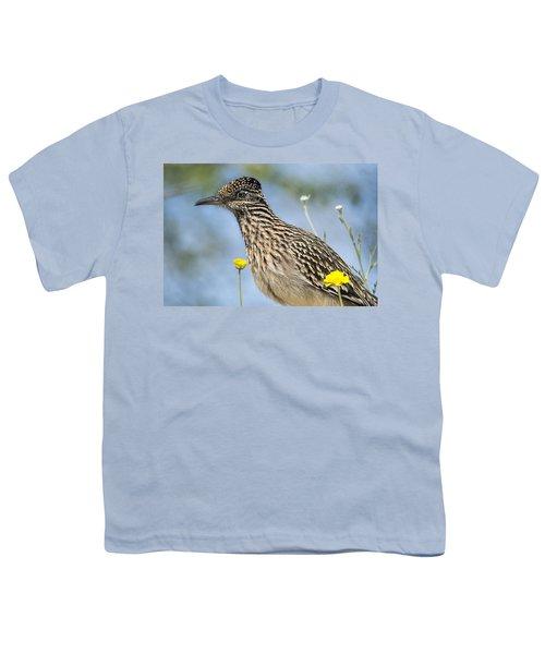 The Greater Roadrunner  Youth T-Shirt by Saija  Lehtonen