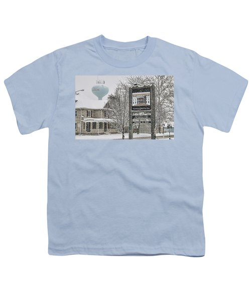 The Whitehouse Inn Sign 7034 Youth T-Shirt by Jack Schultz