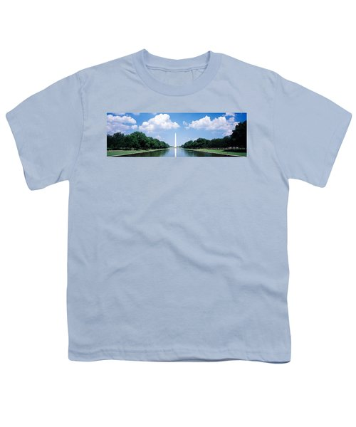 Washington Monument Washington Dc Youth T-Shirt by Panoramic Images