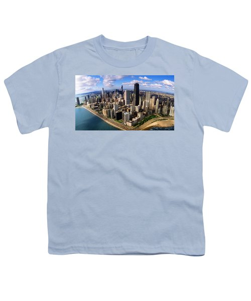 Chicago Il Youth T-Shirt by Panoramic Images