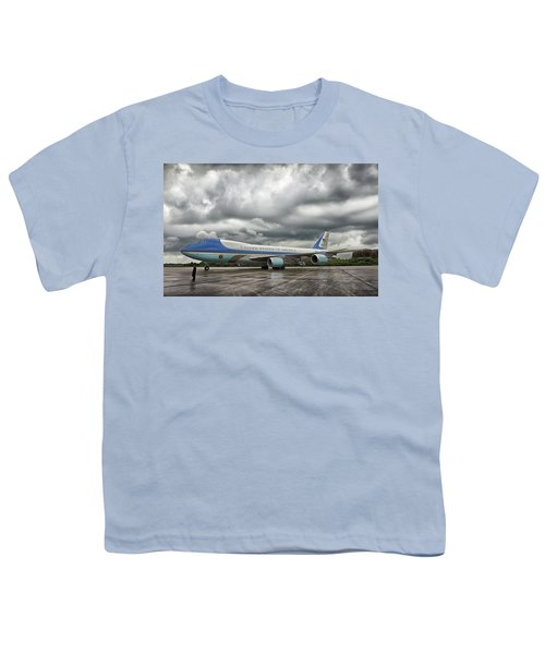 Air Force One Youth T-Shirt by Mountain Dreams