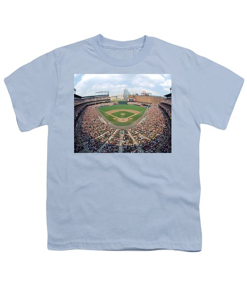 Camden Yards Baltimore Md Youth T-Shirt by Panoramic Images