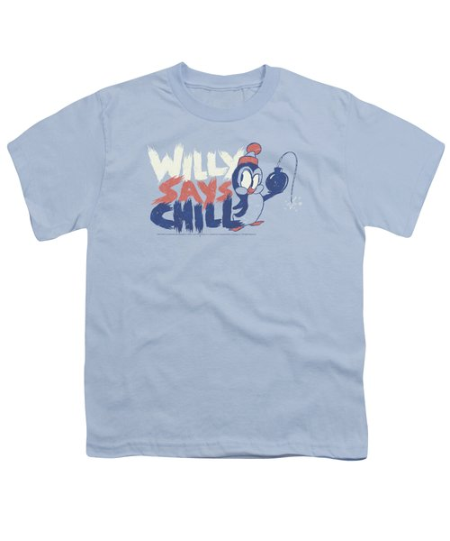 Chilly Willy - I Say Chill Youth T-Shirt by Brand A