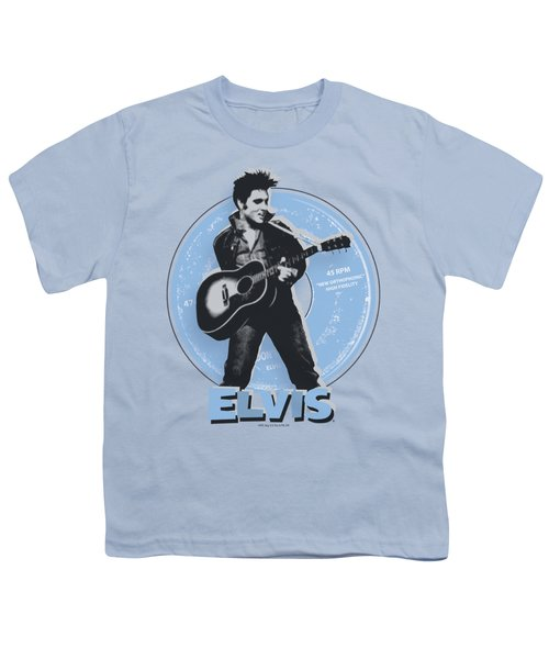 Elvis - 45 Rpm Youth T-Shirt by Brand A