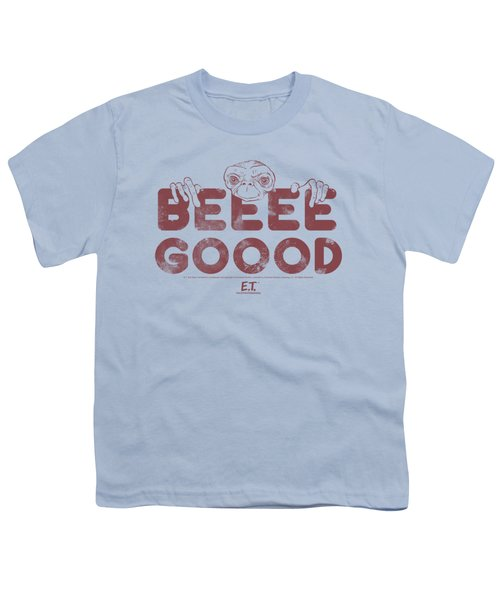 Et - Be Good Youth T-Shirt by Brand A