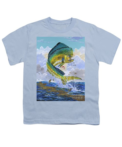 Mahi Hookup Off0020 Youth T-Shirt by Carey Chen