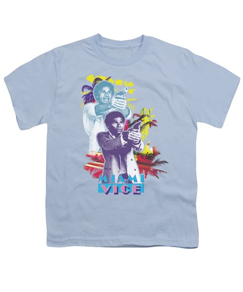 Miami Vice - Freeze Youth T-Shirt by Brand A