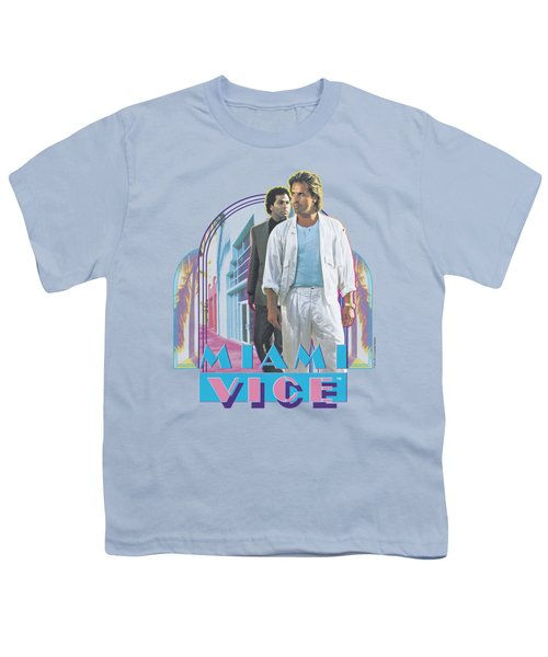 Miami Vice - Miami Heat Youth T-Shirt by Brand A