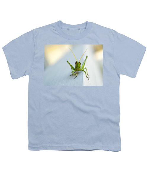 Staring At Me Youth T-Shirt by Shelby  Young