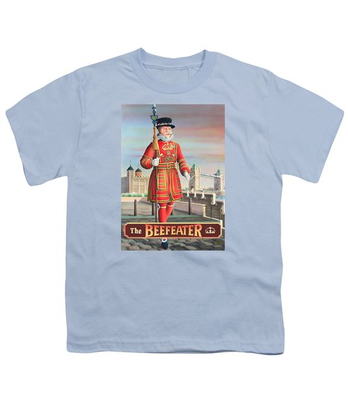 The Beefeater Youth T-Shirt by Peter Green