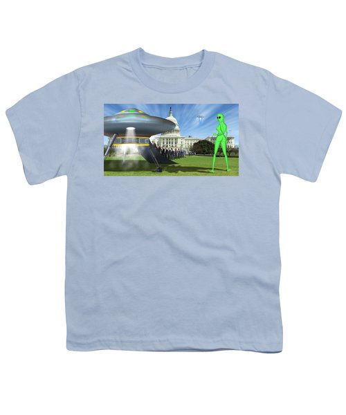Wip - Washington Field Trip Youth T-Shirt by Mike McGlothlen