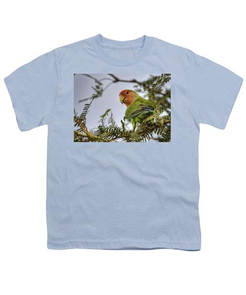 Over My Shoulder  Youth T-Shirt by Saija  Lehtonen