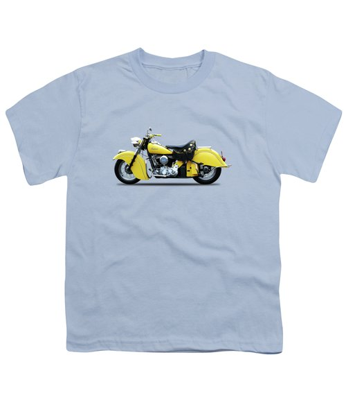 Indian Chief 1951 Youth T-Shirt by Mark Rogan