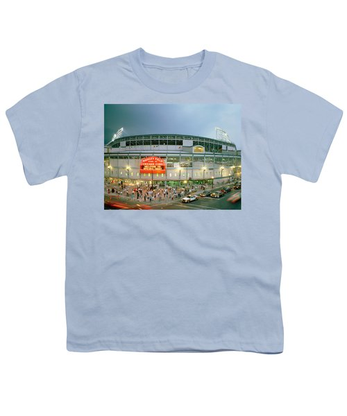 High Angle View Of Tourists Youth T-Shirt by Panoramic Images