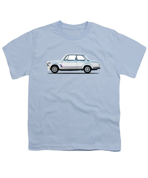 Bmw 2002 Turbo Youth T-Shirt by Mark Rogan