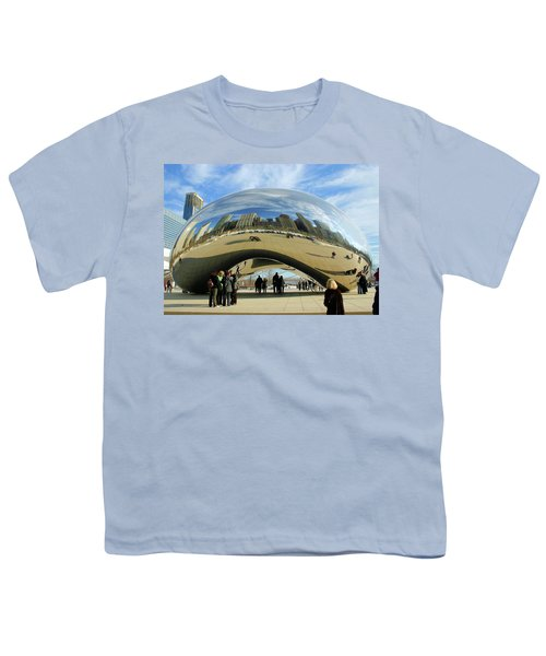 Chicago Reflected Youth T-Shirt by Kristin Elmquist