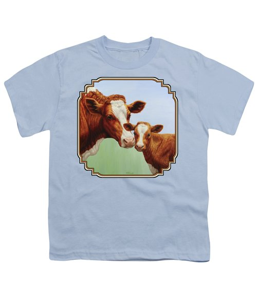 Cream And Sugar Youth T-Shirt by Crista Forest