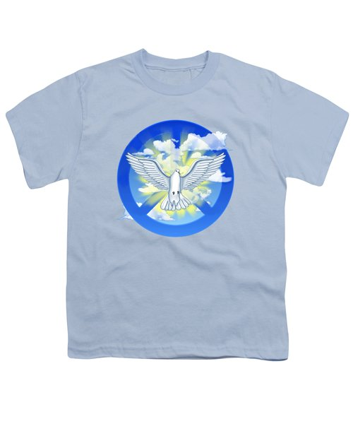 Dove Of Peace Youth T-Shirt by Chris MacDonald