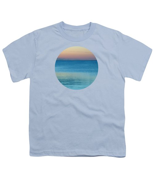 Evening At The Lake Youth T-Shirt by Mary Wolf