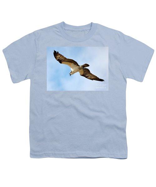 Hunter Osprey Youth T-Shirt by Carol Groenen