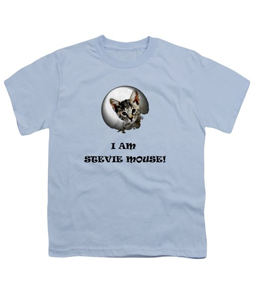 I Am Stevie Mouse Youth T-Shirt by Dorothy Berry-Lound