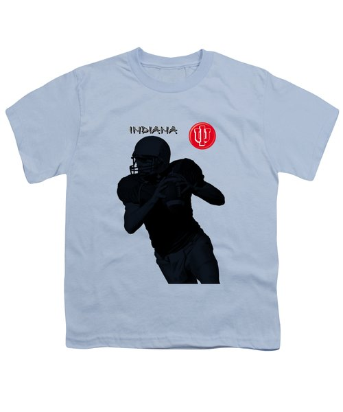 Indiana Football Youth T-Shirt by David Dehner