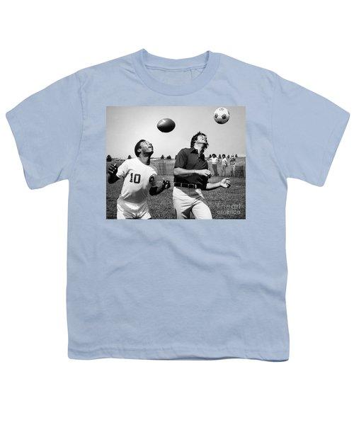 Joe Namath (1943- ) Youth T-Shirt by Granger