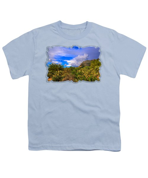 Sonoran Afternoon H11 Youth T-Shirt by Mark Myhaver