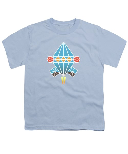 Spacecraft Youth T-Shirt by Gaspar Avila