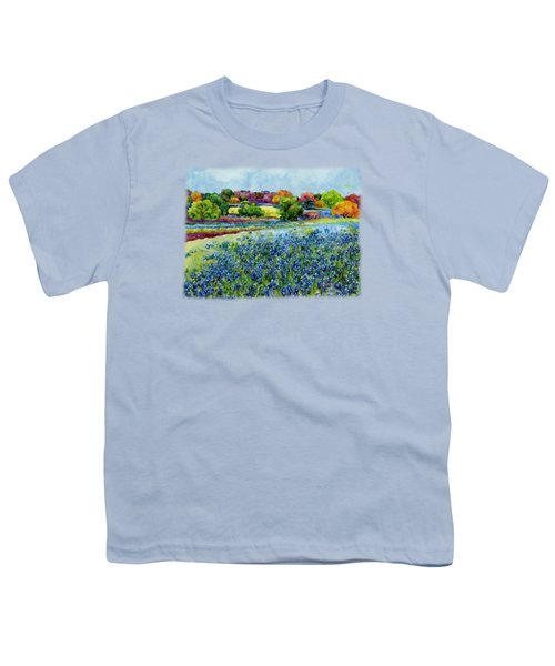 Spring Impressions Youth T-Shirt by Hailey E Herrera