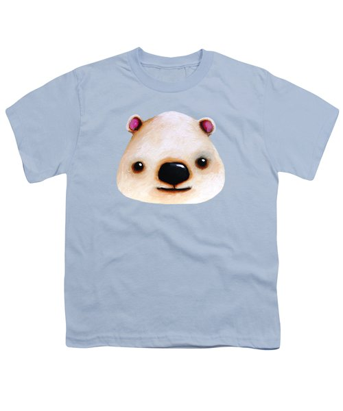 The Polar Bear Youth T-Shirt by Lucia Stewart