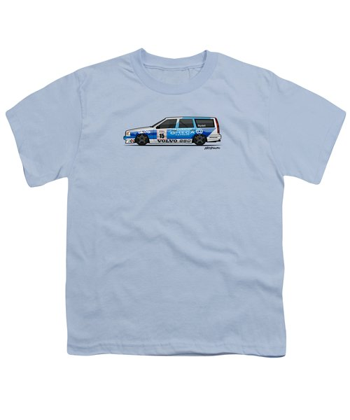 Volvo 850r Twr British Touring Car Championship  Youth T-Shirt by Monkey Crisis On Mars