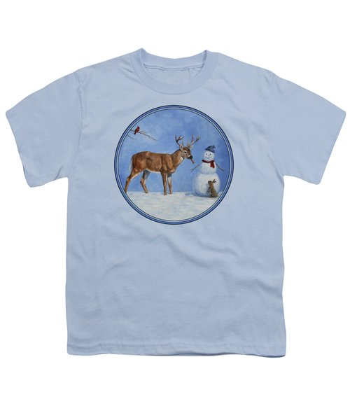 Whose Carrot Seasons Greeting Youth T-Shirt by Crista Forest