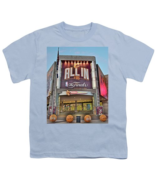 World Champion Cleveland Cavaliers Youth T-Shirt by Frozen in Time Fine Art Photography