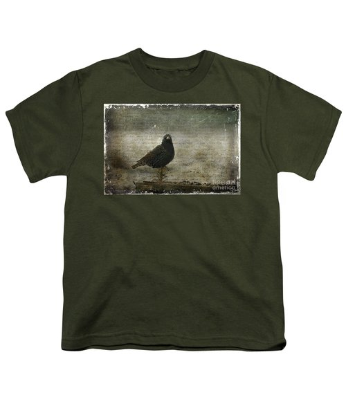 European Starling Youth T-Shirt by Cindi Ressler