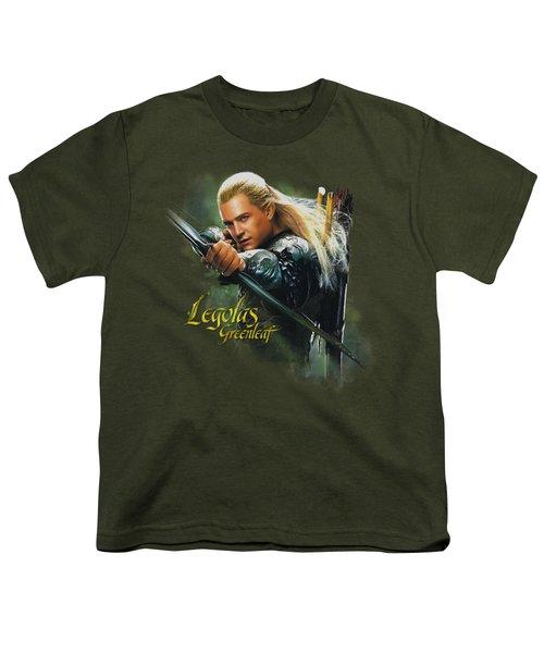 Hobbit - Legolas Greenleaf Youth T-Shirt by Brand A