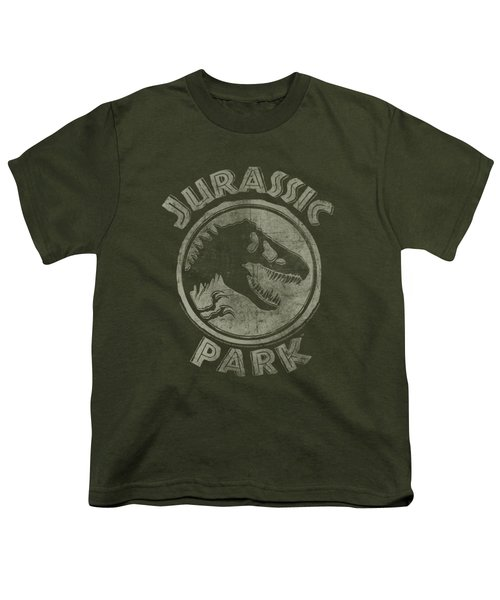 Jurassic Park - Jp Stamp Youth T-Shirt by Brand A