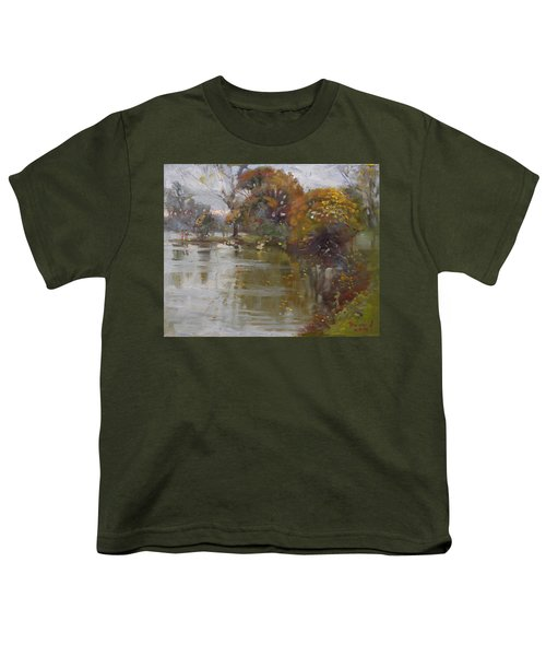 November 4th At Hyde Park Youth T-Shirt by Ylli Haruni