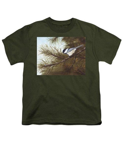 Out On A Limb Youth T-Shirt by Rick Bainbridge