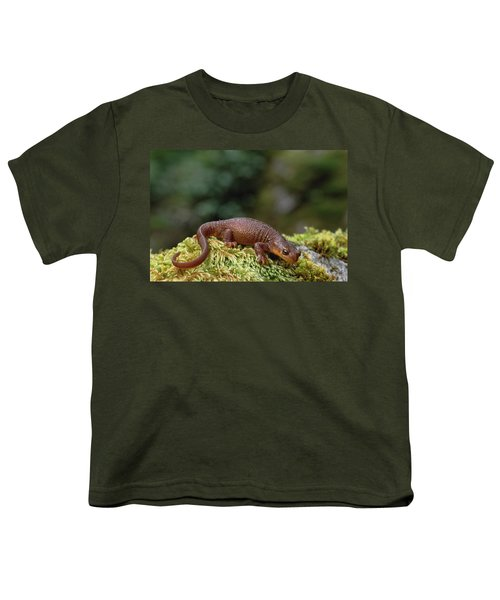 Rough-skinned Newt Oregon Youth T-Shirt by Gerry Ellis