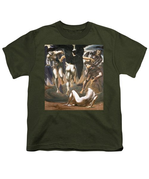 The Death Of Medusa II, 1882 Youth T-Shirt by Sir Edward Coley Burne-Jones